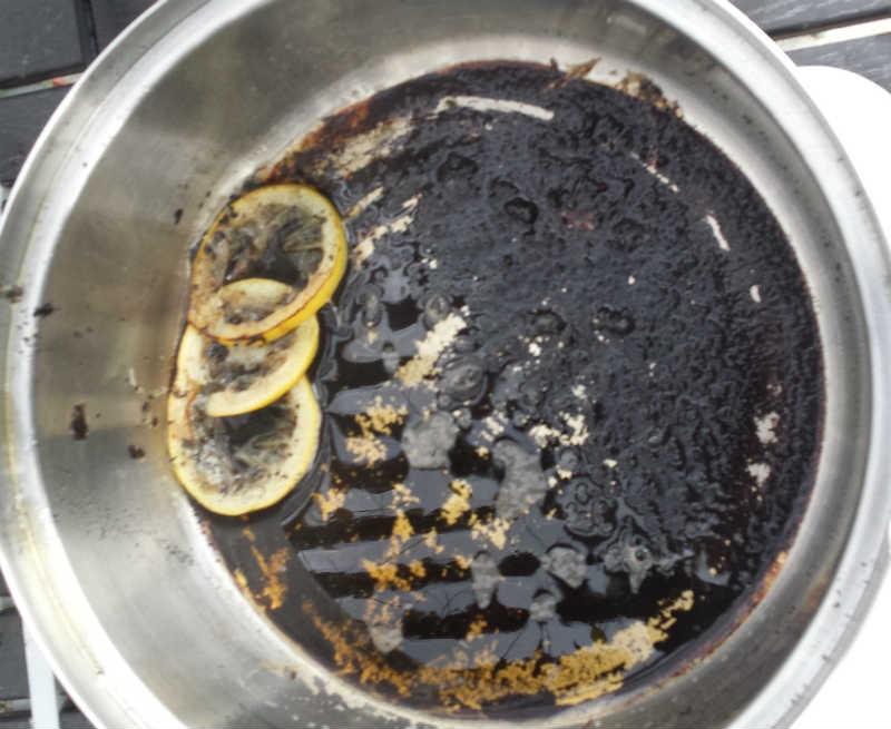 Funktion Saftkoger - gryde er brændt på