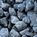 Granit i haven – granitskærver