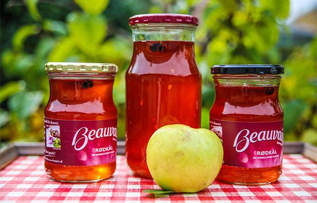 æblegele med saftkoger