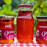 Hjemmelavet æblegele med ingefær & kanel