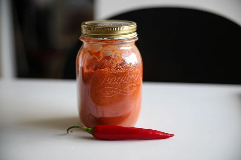 hjemmelavet chili dip