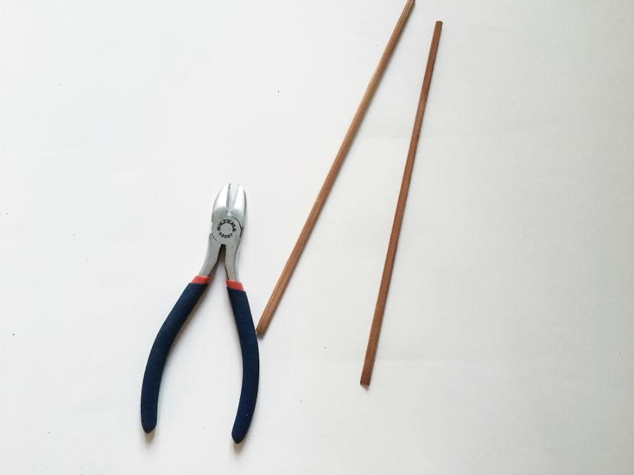 Genbrug sushisticks til spirekasse